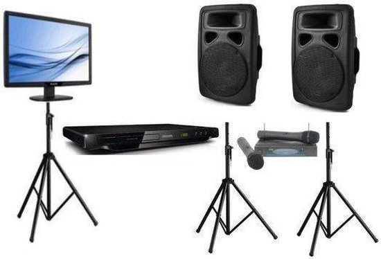 karaoke set met dvd speler professioneel