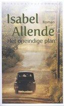 Boek cover Het oneindige plan van Isabel Allende (Onbekend)