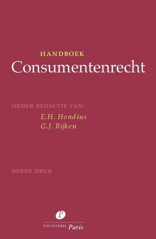 Handboek consumentenrecht - none |