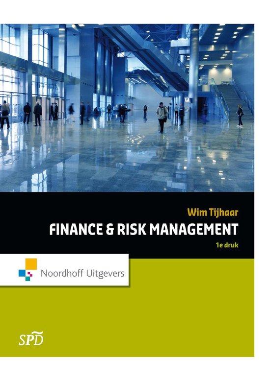Finance & Risk Management - W.A. Tijhaar   Fthsonline.com