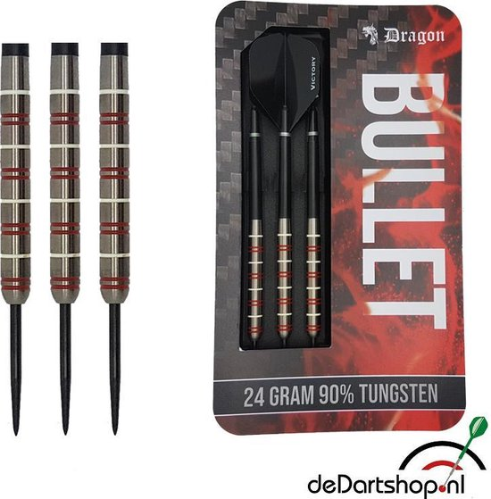 Dragon darts – Bullet - 90% tungsten – 26 gram – dartpijlen
