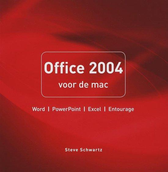 Office 2004 Voor De Mac - Schwartz Steve |