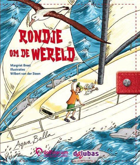 Boek cover Rondje om de wereld van Margriet Breet (Hardcover)