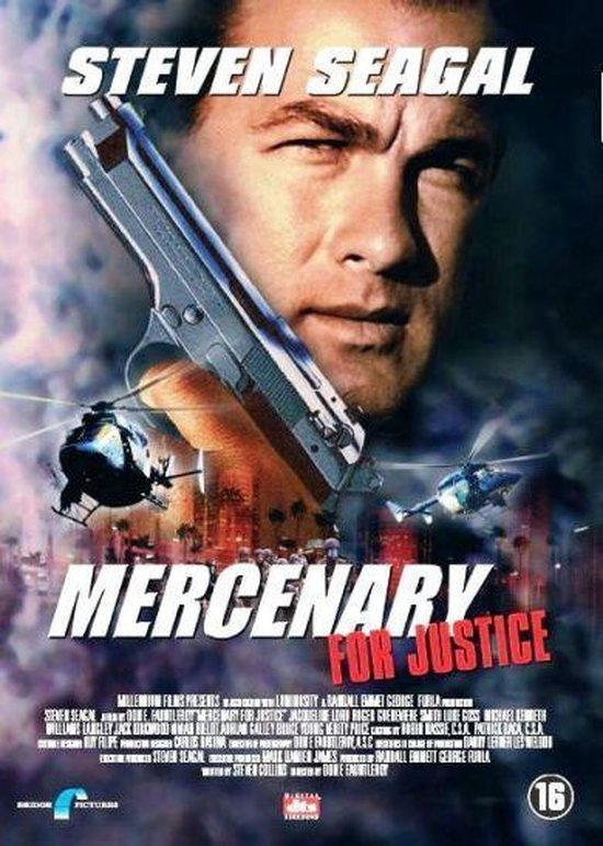 Cover van de film 'Mercenary For Justice'