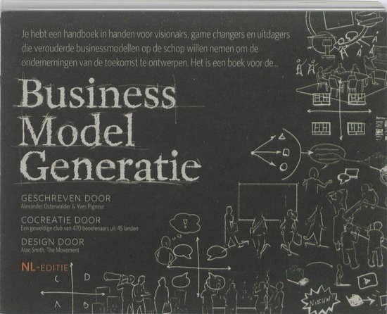 Boek cover Business model generatie van Alexander Osterwalder (Hardcover)