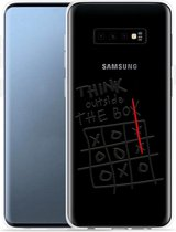 Galaxy S10 Plus Hoesje Think outside the Box
