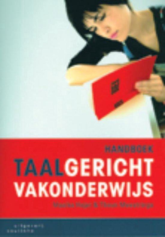 Handboek taalgericht vakonderwijs - Maaike Hajer  