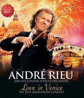 CD cover van Love In Venice van André Rieu