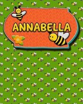 Handwriting Practice 120 Page Honey Bee Book Annabella