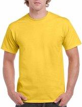 Geel katoenen shirt voor volwassenen M (38/50)