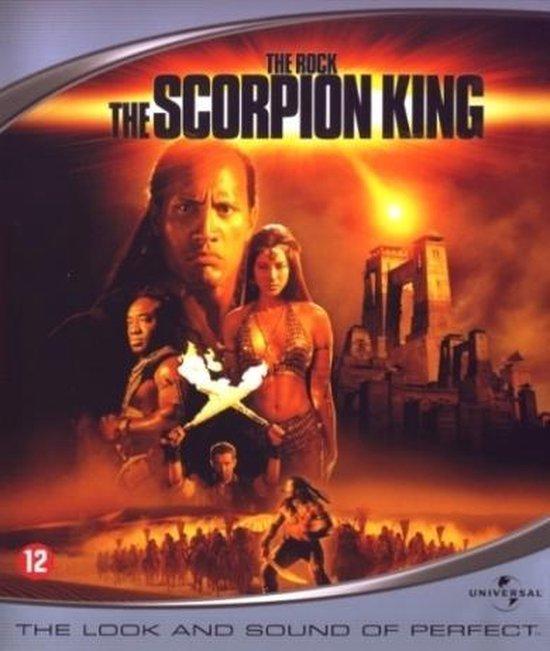Cover van de film 'Scorpion King'