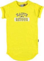 Retour Jeans Meisjes Jurk - Bright yellow - Maat 122/128