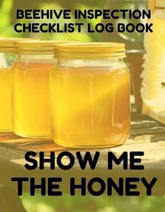Beehive Inspection Checklist Log Book