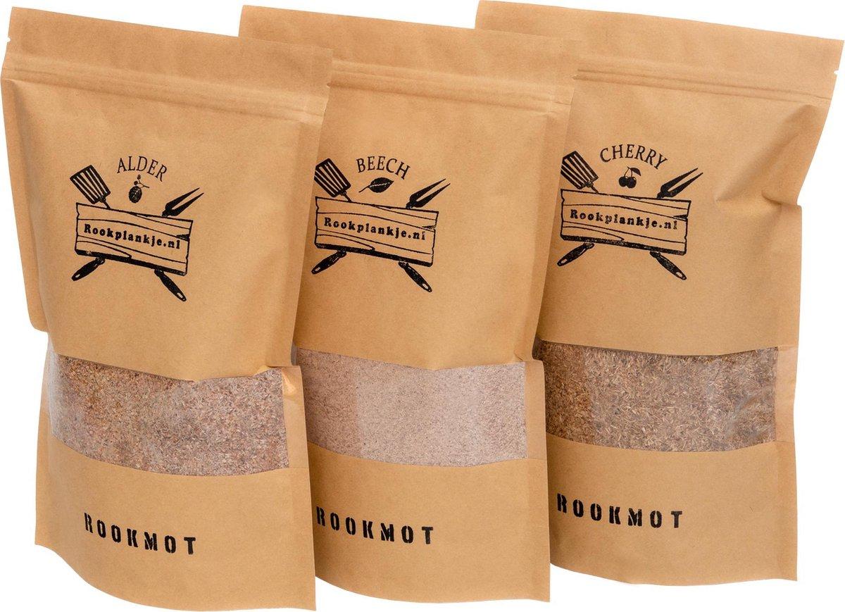 Rookmot Assortiment | Alder, Beech, Cherry