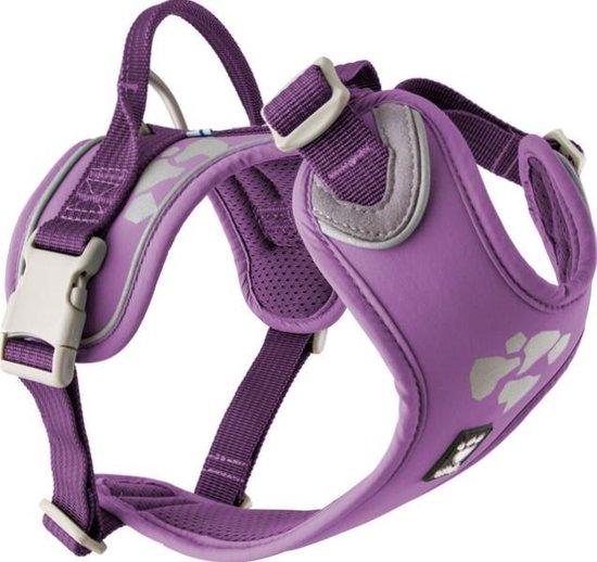 Hurtta Weekend Warrior Hondenharnas Currant paars 45-60cm