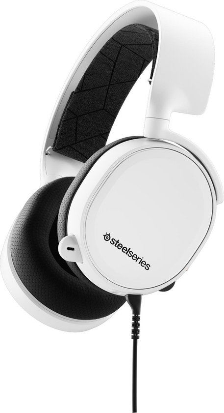 SteelSeries Arctis 3 - 2019 Edition -  Gaming Headset - Wit - PC