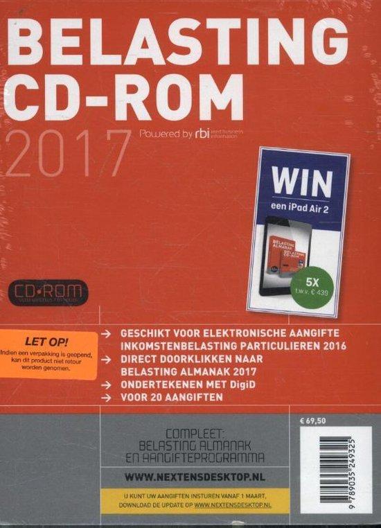 Belasting CD-rom 2017