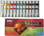 Toppoint Olieverf 12 x 12ml