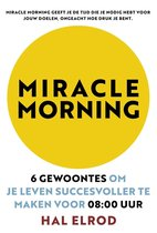 Boek cover Miracle Morning van Hal Elrod (Onbekend)