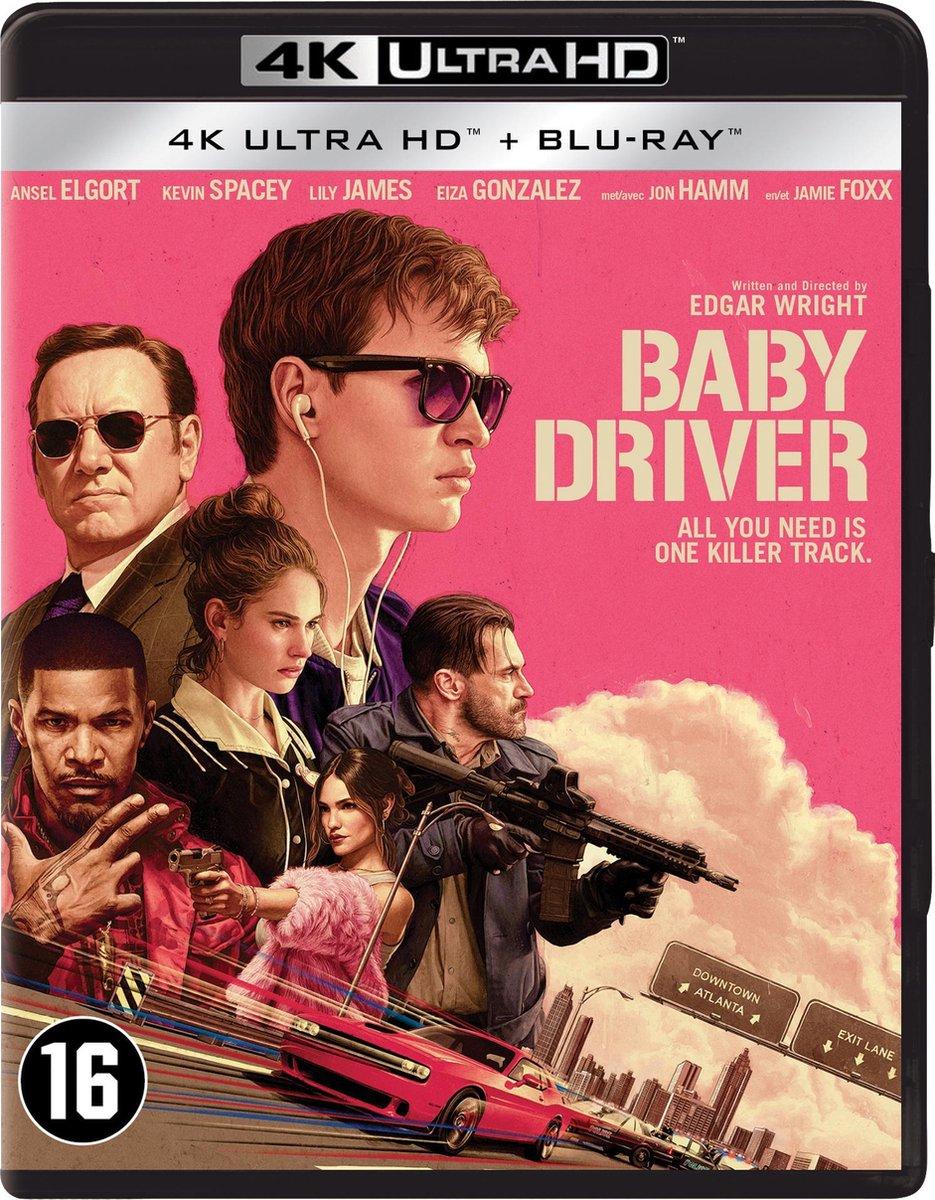Baby Driver (4K Ultra HD Blu-ray)-