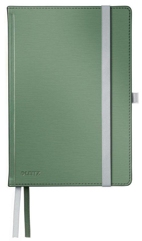 Leitz Notitieboek Style - A5 formaat - Harde gebonden kaft - gelijnd - zee groen