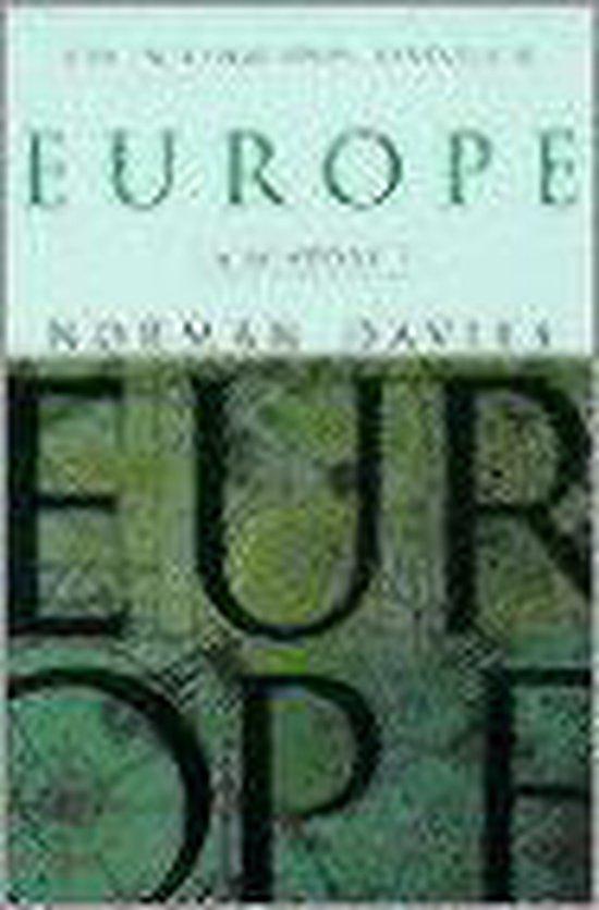 Boek cover Europe van Norman Davies (Paperback)