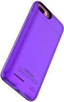 Battery Power Case voor iPhone 6 Plus/6s Plus/7 Plus 4200 mAh Paars