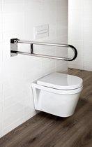 Sanifun Allibert toilet hendelgreep Usis Chroom 700