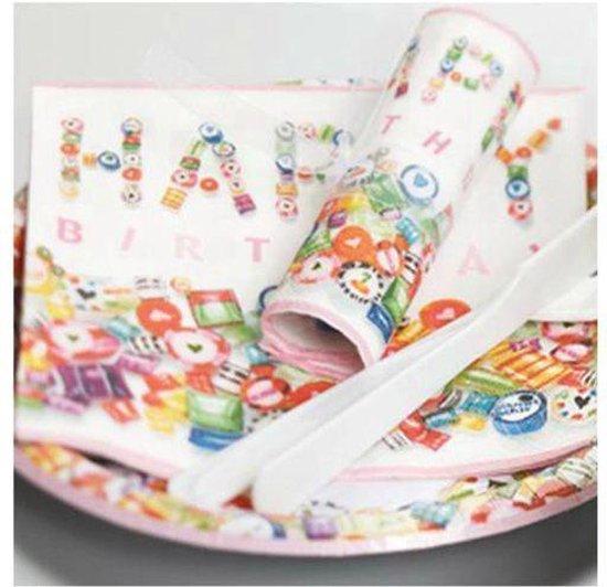 Paper Design Sweet birthday papieren servetten