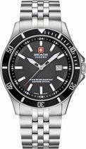 Swiss Military Hanowa 06-5161.2.04.007 horloge heren - zilver - edelstaal