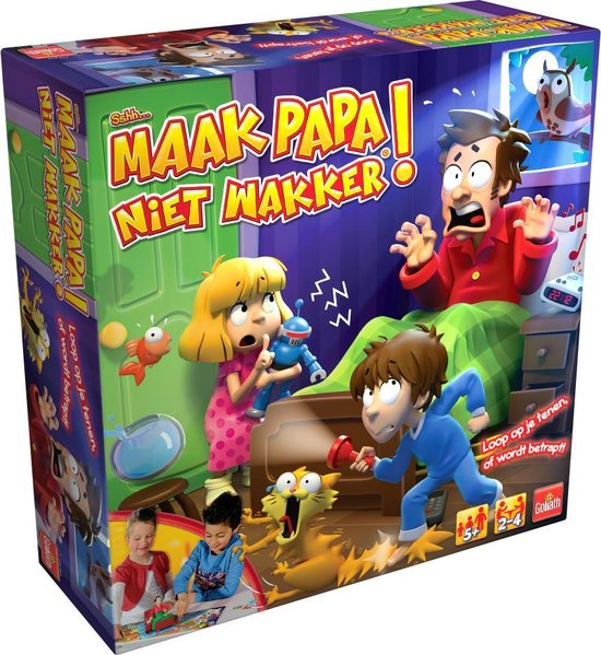 Afbeelding van het spel Sshh Maak papa niet wakker '19