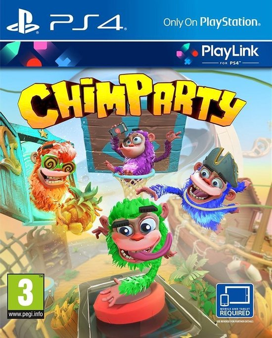 Sony Chimparty video-game PlayStation 4 Basis
