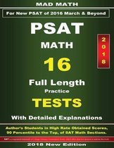 2018 New PSAT Math 16 Tests