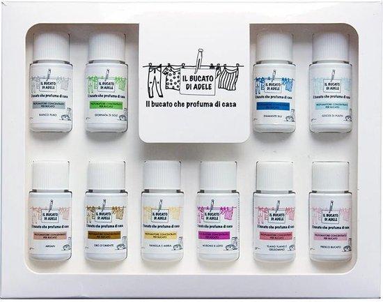 Wasparfum luxe giftbox/proefpakket 10x20ml