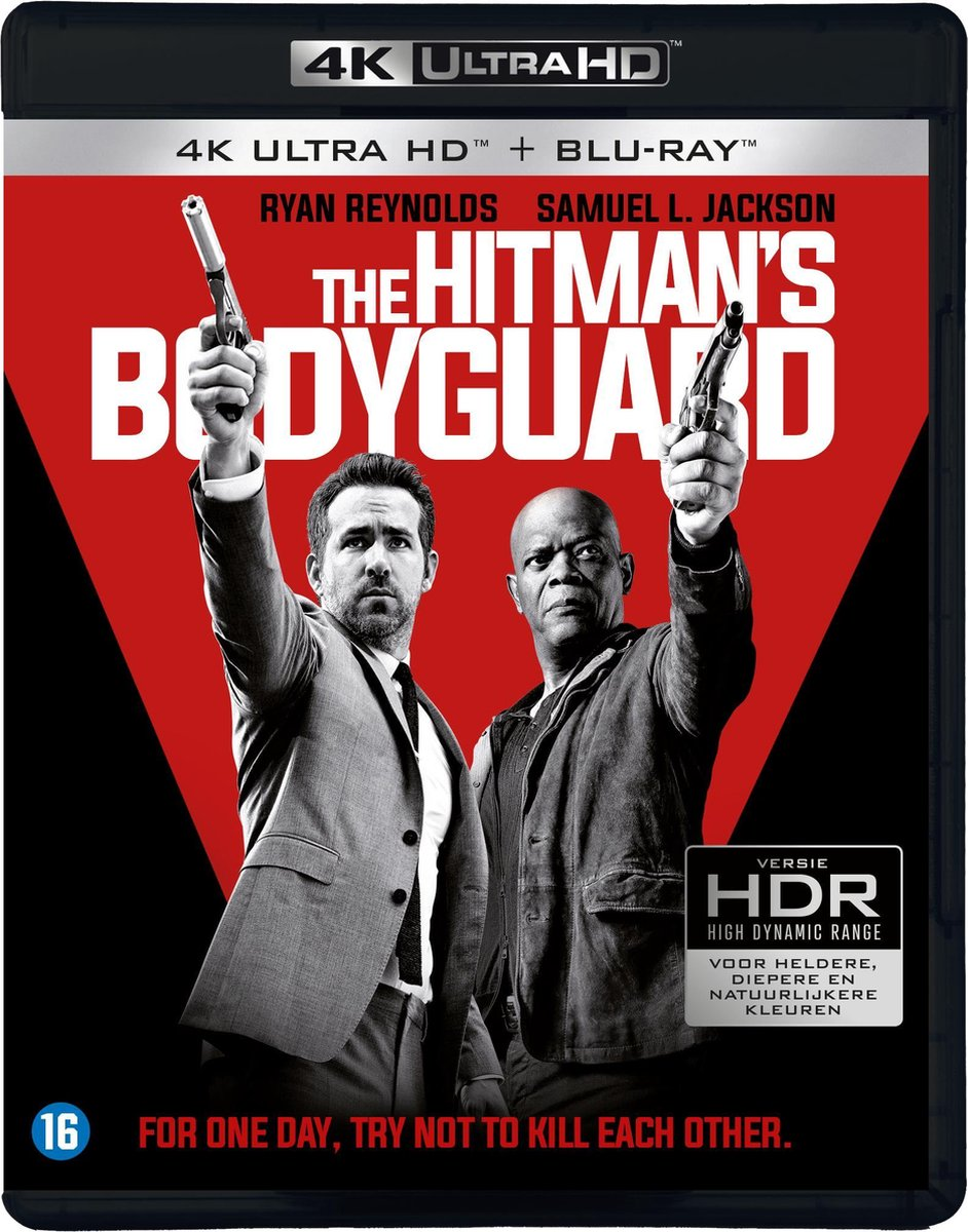 The Hitman's Bodyguard (4K Ultra HD Blu-ray)-
