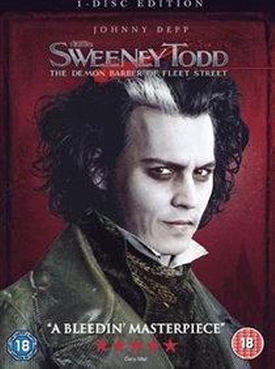 Cover van de film 'Sweeney Todd'