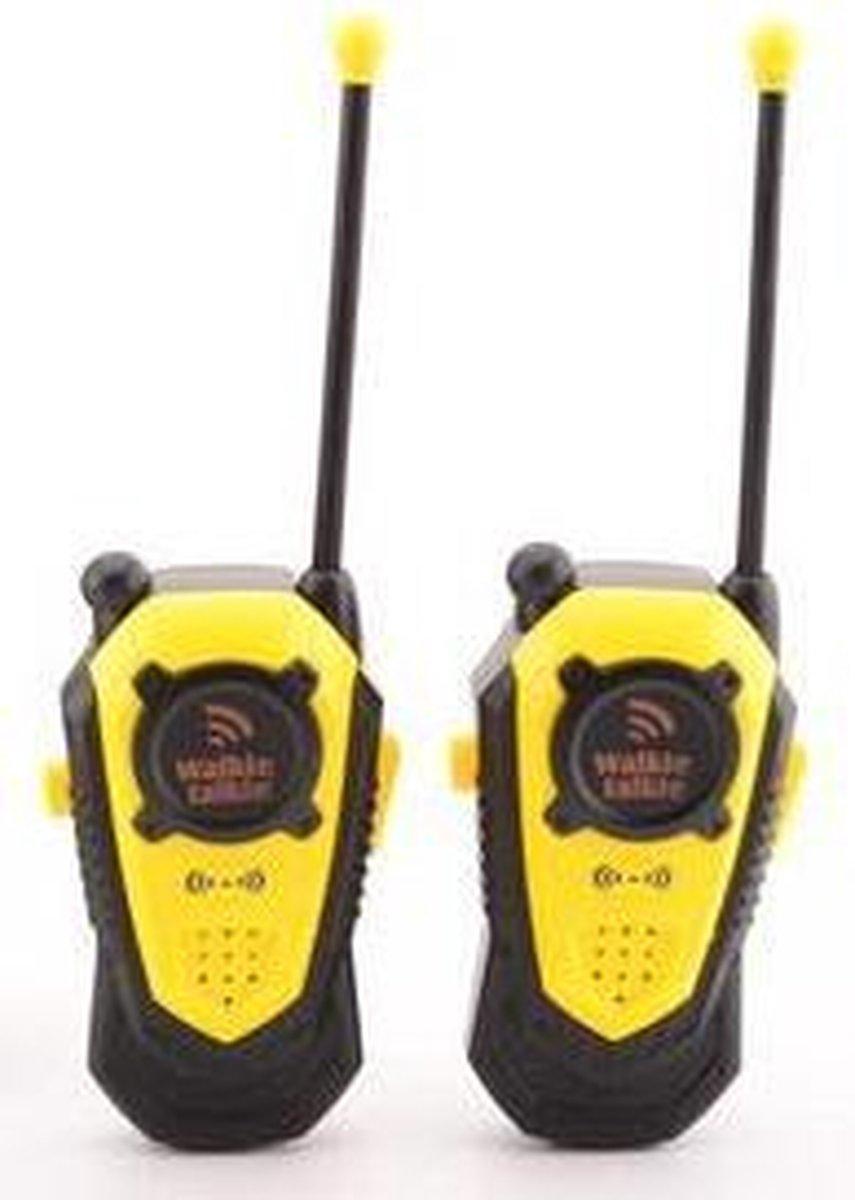 Gele walkie talkie voor kinderen