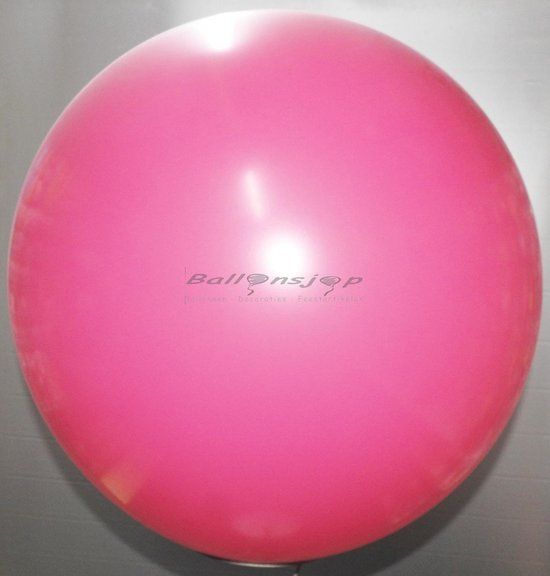 reuze ballon 60 cm  24 inch roze