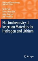 Omslag Electrochemistry of Insertion Materials for Hydrogen and Lithium
