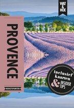 Boek cover Wat & Hoe reisgids  -   Provence & de Cote dAzur van Wat & Hoe Hoogtepunten