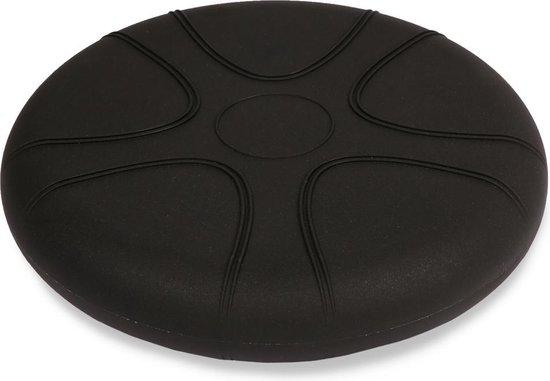 Wiebelkussen zwart 33 cm - voor kinderen en volwassenen - trainingskussen - balanskussen