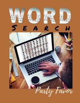 Word Search Party Favor