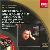 Galina/Rostropov Vishnevskaya - Various Russian Opera Arias
