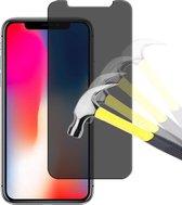 iPhone X - Screenprotector - iPhone X Privacy Screen Protector Bescherm Glas