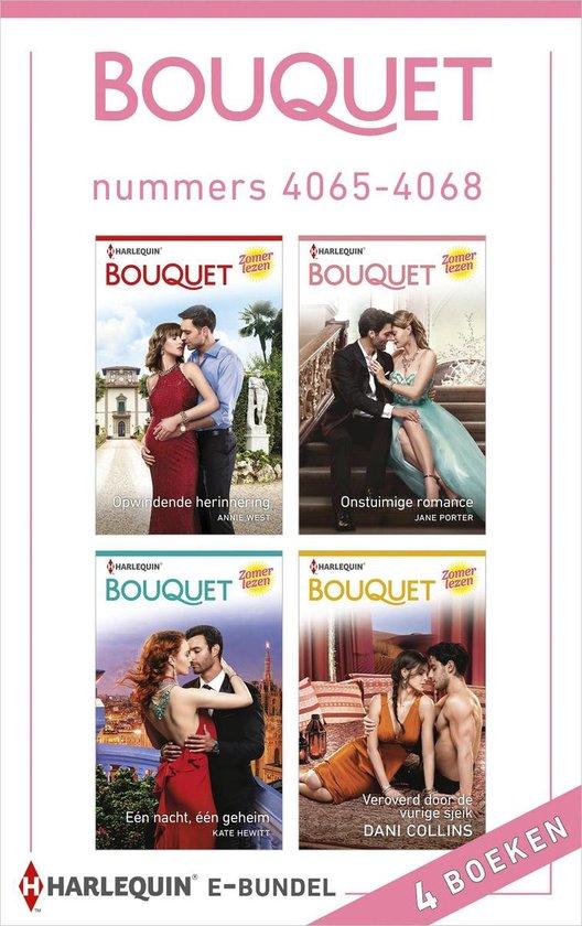 Bouquet e-bundel nummers 4065 - 4068 - Annie West |