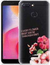 Xiaomi Redmi 6 Hoesje Every Flower