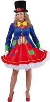 Luxe clowns jurkje Lucky voor dames 40 (l)