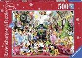 Ravensburger puzzel Disney Kerstavond - Legpuzzel - 500 stukjes
