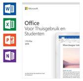 Microsoft Office Home & Student 2019 - Eenmalige aankoop - Nederlands