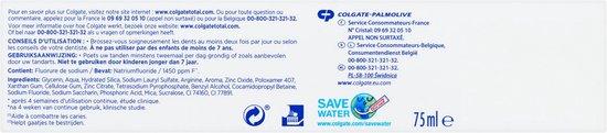 Colgate Total Whitening Tandpasta 4x 75 ml